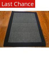 Rugstudio Sample Sale 46925R Charcoal / Charcoal Area Rug