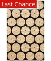 Rugstudio Sample Sale 47069R Black / White Area Rug