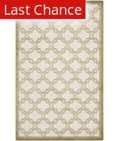 Rugstudio Sample Sale 107848R Ivory / Light Green Area Rug