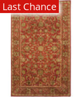 Rugstudio Sample Sale 46301R Red / Red Area Rug
