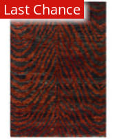 Rugstudio Sample Sale 80379R Red / Black Area Rug