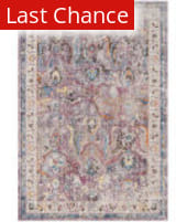 Rugstudio Sample Sale 181931R Lavender - Light Grey Area Rug
