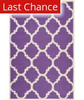 Rugstudio Sample Sale 94154R Purple / Ivory Area Rug