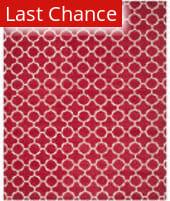 Rugstudio Sample Sale 94171R Red / Ivory Area Rug