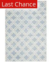 Rugstudio Sample Sale 107923R Blue / Ivory Area Rug