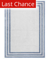 Rugstudio Sample Sale 209591R Light Blue - Dark Blue Area Rug