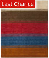 Rugstudio Sample Sale 80590R Orange / Multi Area Rug