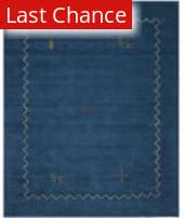 Rugstudio Sample Sale 80592R Blue Area Rug