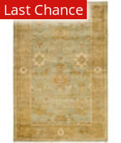 Rugstudio Sample Sale 100677R Dark Green / Brown Area Rug