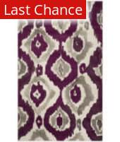 Rugstudio Sample Sale 143600R Ivory - Purple Area Rug