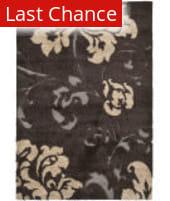 Rugstudio Sample Sale 101566R Dark Brown / Smoke Area Rug