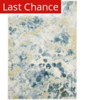 Rugstudio Sample Sale 166817R Ivory - Light Blue Area Rug