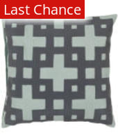 Surya Layered Blocks Pillow Ar-085