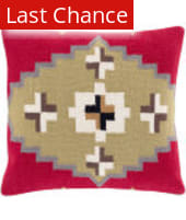 Surya Cotton Kilim Pillow Ck-002