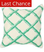 Surya Bamboo Lattice Pillow Fbb-001