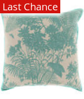 Surya Shadow Floral Pillow Fbs-001