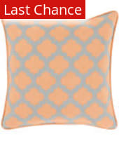 Surya Moroccan Printed Lattice Pillow Mpl-004