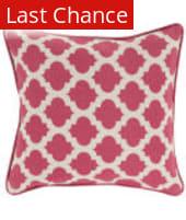 Surya Moroccan Printed Lattice Pillow Mpl-006