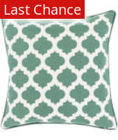 Surya Moroccan Printed Lattice Pillow Mpl-010