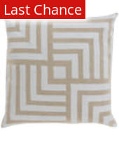 Surya Metallic Stamped Pillow Ms-004