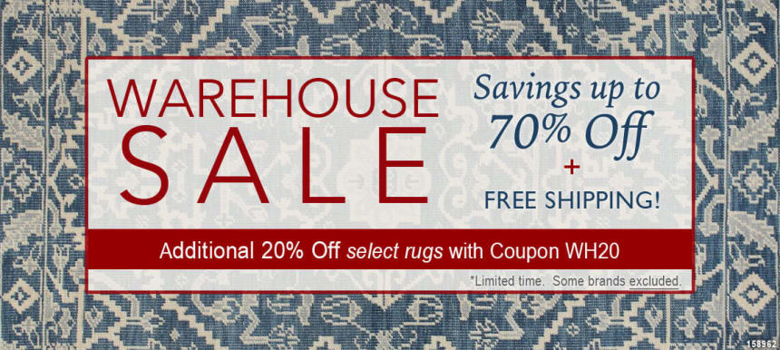 Rug Warehouse Sales