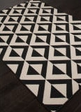 Addison And Banks Indoor-Outdoor Abr1342 Black Area Rug