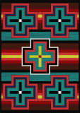 American Dakota Trader Rugs Bounty Multi Area Rug