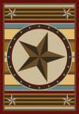 American Dakota Great State Of Mind Hacienda Star Yellow Area Rug
