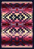 American Dakota Trader Rugs Rainbow Blanket Red Area Rug