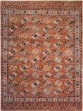 Azad Turkman  Rust Area Rug