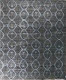 Azad Oushak Moroccan  Gray - Blue Area Rug