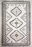 Bashian Aztec A162-Bha303 Cream Area Rug