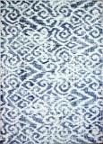 Bashian Barcelona B127-Bh120 Ivory - Blue Area Rug