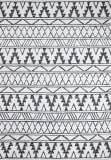 Bashian Valencia R131-AL122 Ivory - Charcoal Area Rug