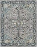Capel Smyrna Serapi 3158 Silver Azul Area Rug