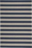 Capel Elsinore Stripe 4730 Midnight Blue Area Rug