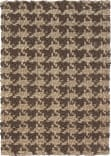 Classic Home Houndstooth 3003 Brown Area Rug