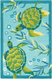 Company C Turtle Bay 10769 Turquoise Area Rug