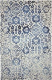 Company C Colorfields Batik 10828 Blue Area Rug