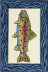 Company C Rainbow Trout 10297 Multi Area Rug