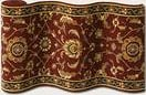 Couristan Royal Luxury Brentwood Bordeaux 1323-0002 Custom Length Runner