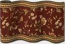 Couristan Royal Luxury Winslow Bordeaux 1327-0002 Custom Length Runner