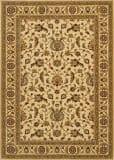 Couristan Royal Luxury Brentwood Linen - Beige Area Rug