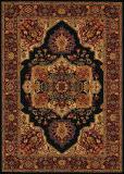 Couristan Everest Antique Sarouk Black Area Rug