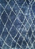 Couristan Bromley Whistler Blue - Snow Area Rug