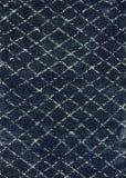 Couristan Bromley Gio Navy - Grey Area Rug