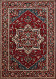 Couristan Old World Classic Antique Mash Antique Red Area Rug