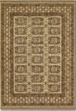 Couristan Timeless Treasures Afghan Panel Antique Cream Area Rug