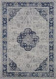 Couristan Sultan Treasures Clover Med Indigo Area Rug