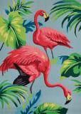 Couristan Covington Flamingos Multi Area Rug